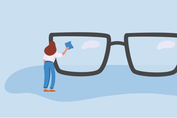 Clean Glasses Regularly
